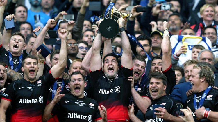 Les Saracens remportent la Coupe d'Europe