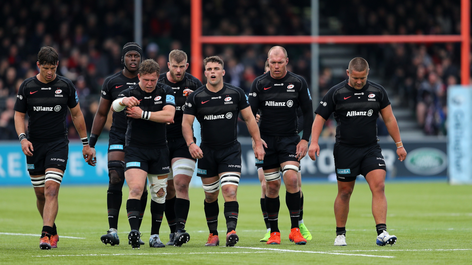 Le club de Saracens très lourdement sanctionné — Masse salariale