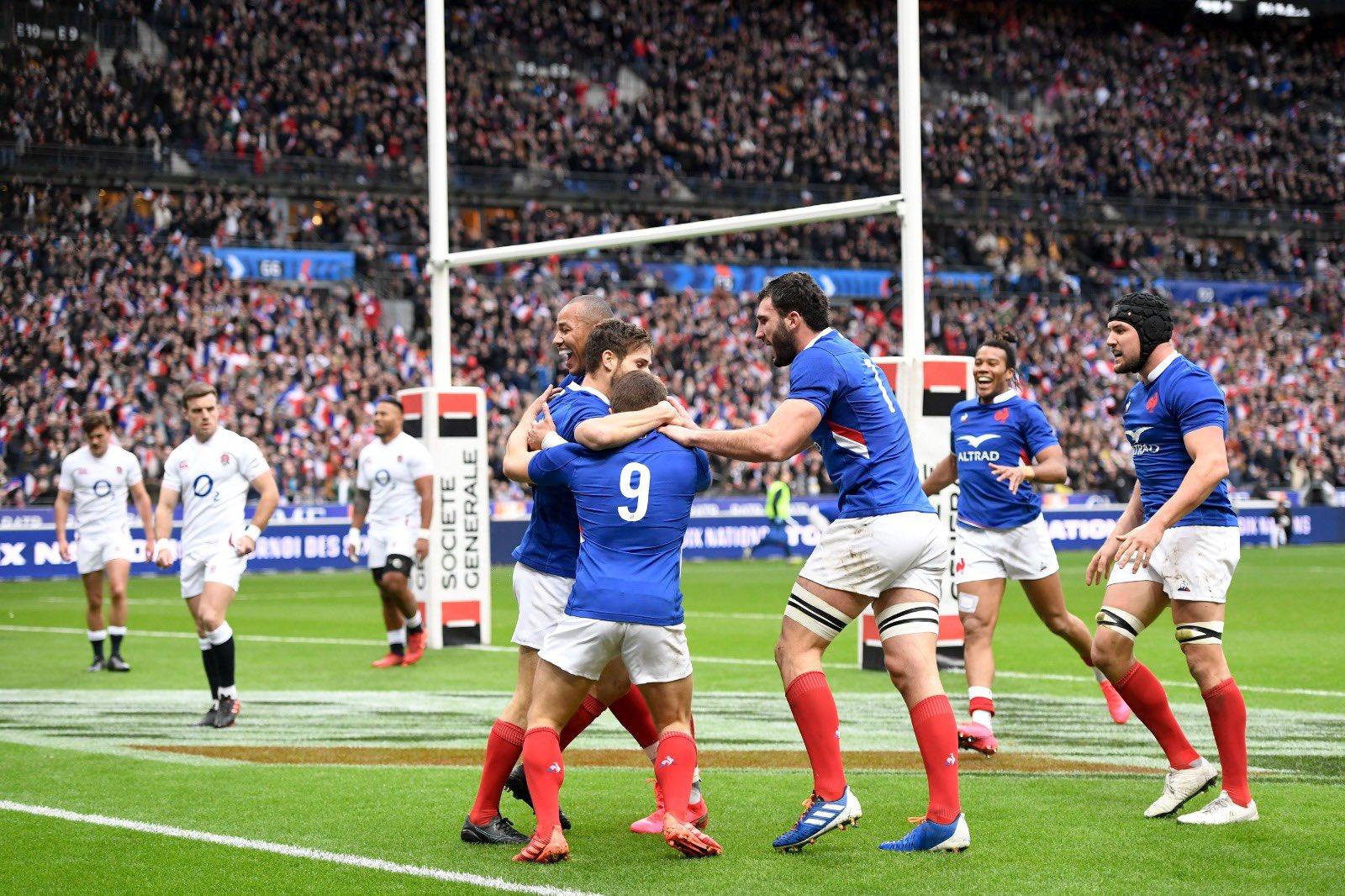 Le XV de France fait tomber le XV de la Rose vice champion du monde